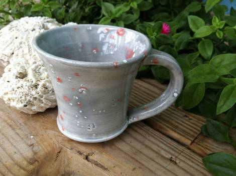 Глинена чаша за кафе